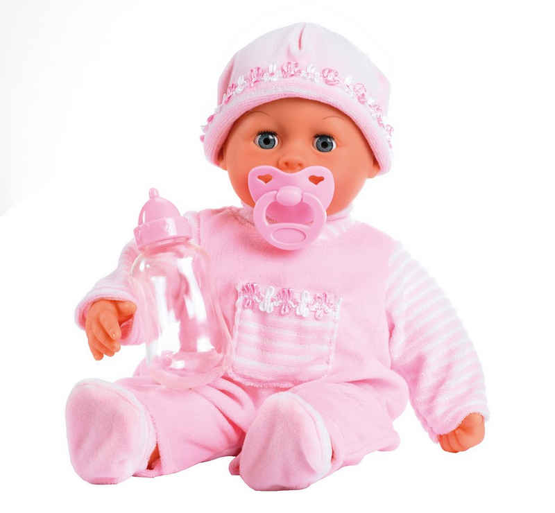 Bayer Babypuppe »First Words, rosa«