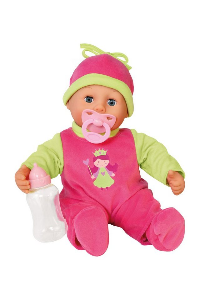 Bayer Design Babypuppe, »First Words«, pink