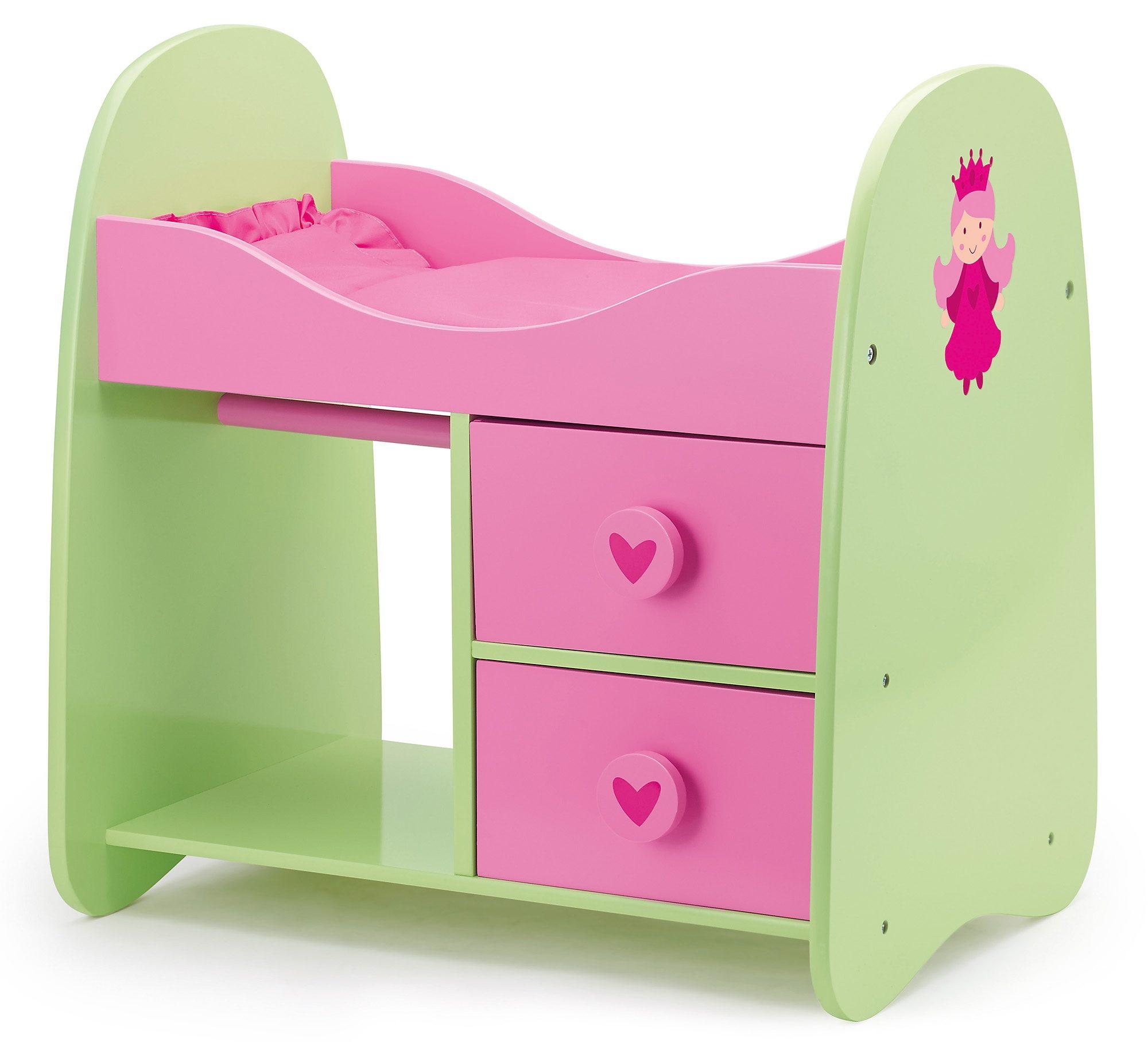 Bayer Design Puppenbett, »Princess World, Schrankbett«