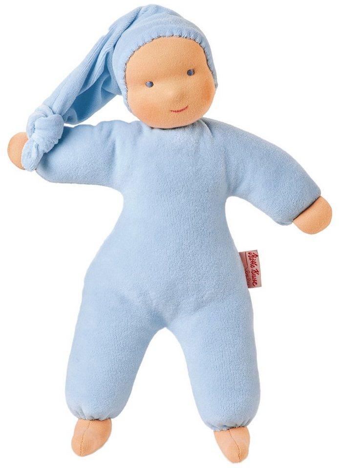 Käthe Kruse Puppe, »Organic Schatzi hellblau« in blau