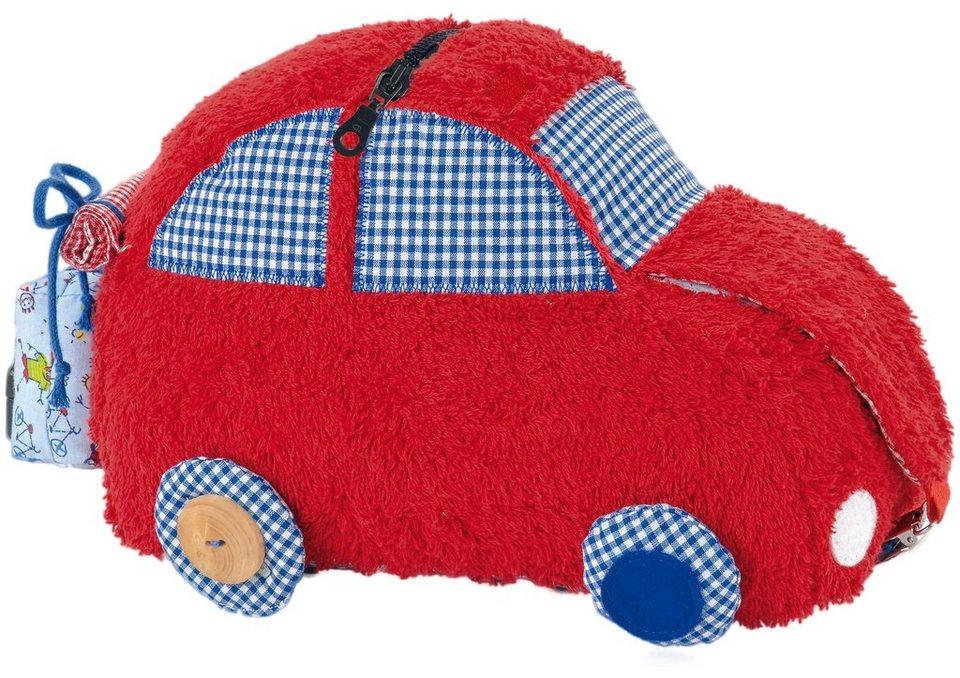 Käthe Kruse Stoffauto, »Unterwegs - Activity Cabriolet« in rot