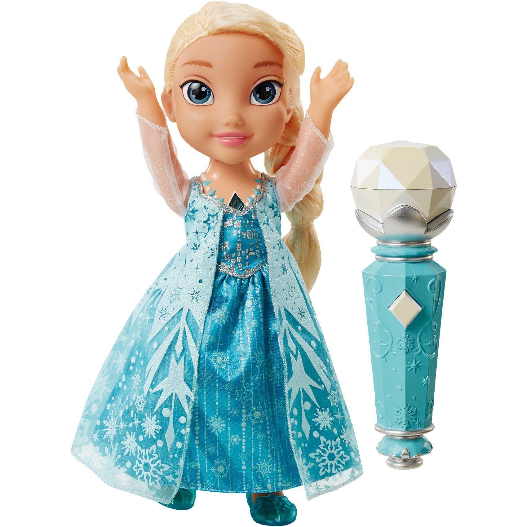 Jakks Pacific Disney Frozen Mitsing Elsa Stehpuppe, 35 cm