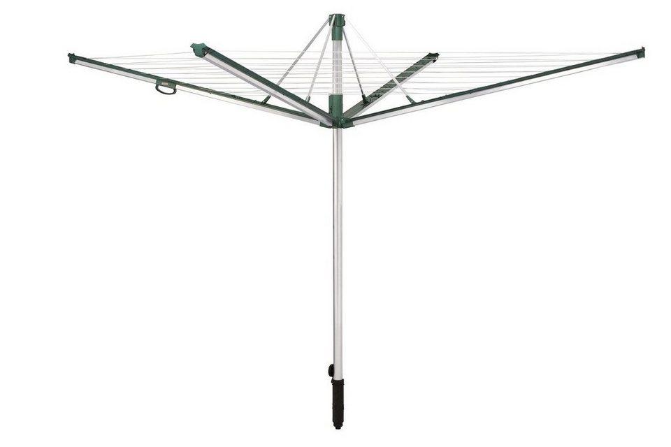Wäschespinne »Linomatic 500 Plus« in dunkelgrün/grau