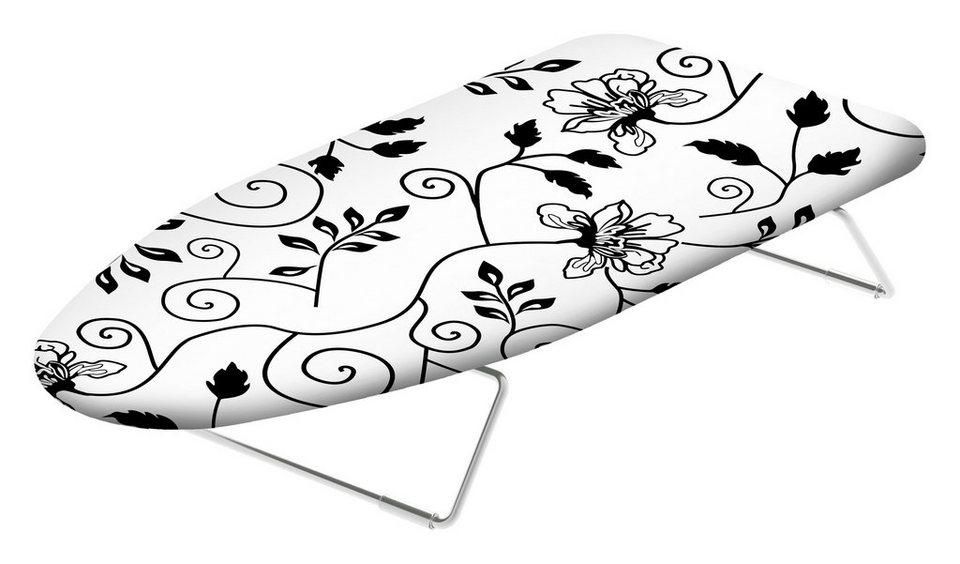 Tisch Bügelbrett »Miniasse«- 70 cm Breite in schwarz/weiß