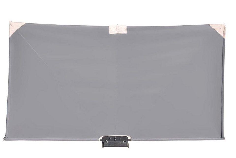 Wind- und Sichtschutz »Mobiler-Sichtschutz« anthrazit in grau