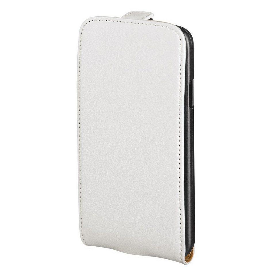 Hama Leder Hülle für Apple iPhone 6s Handytasche Tasche »Handy Schutzhülle Flip Case« in Weiß