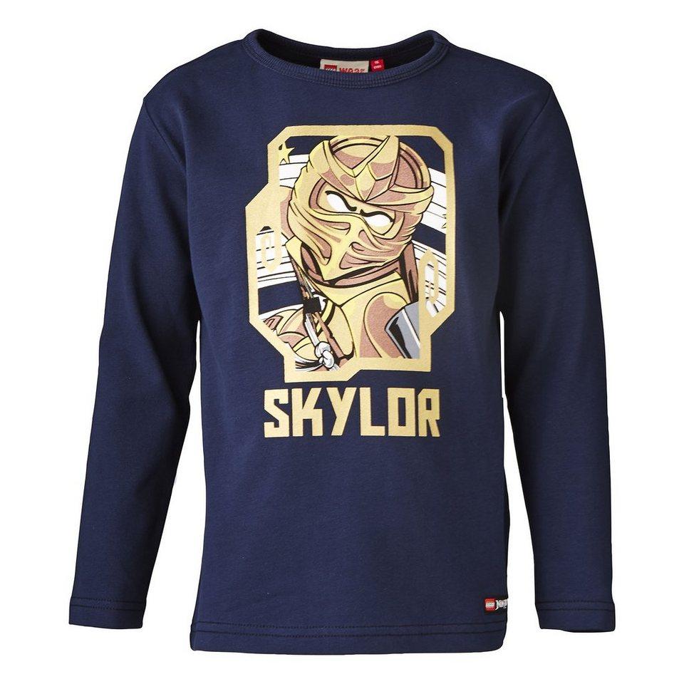 "LEGO Wear Ninjago Langarm-T-Shirt Timmy ""Skylar"" langarm Shirt in dunkelblau"