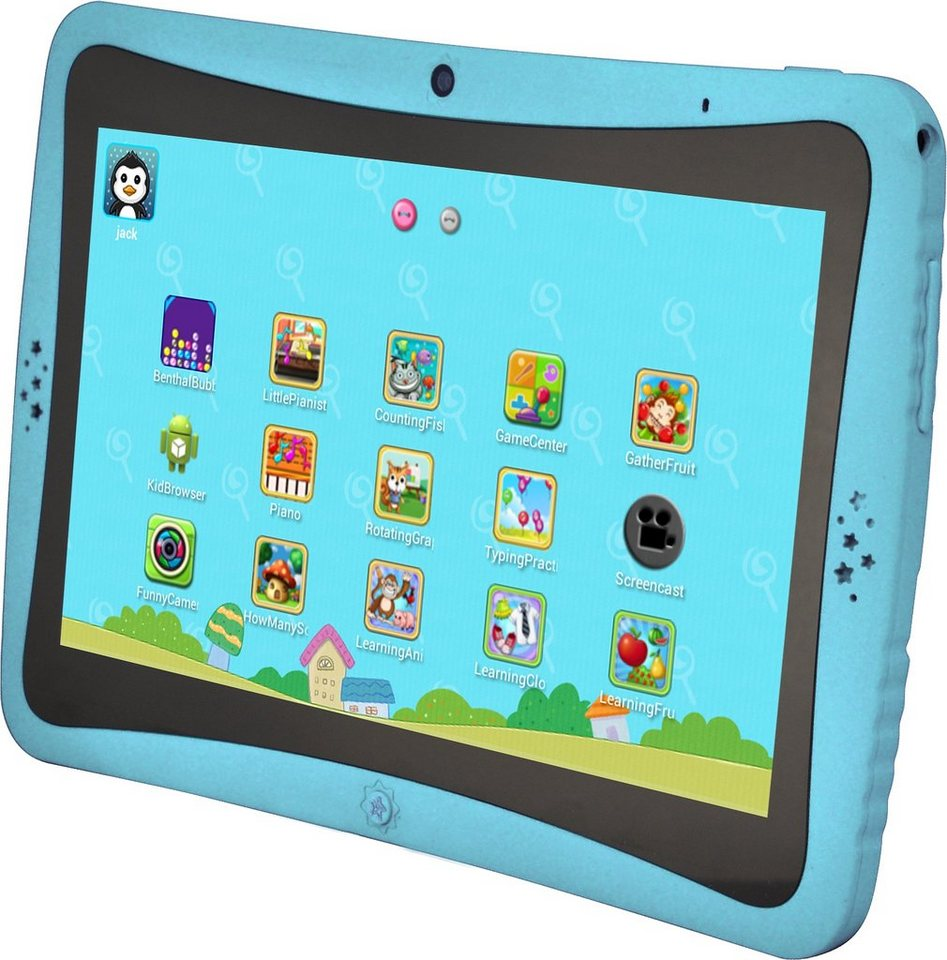 Phantom Android Kinder Tablet »Kids Tab. 4 Quad Core« in blau