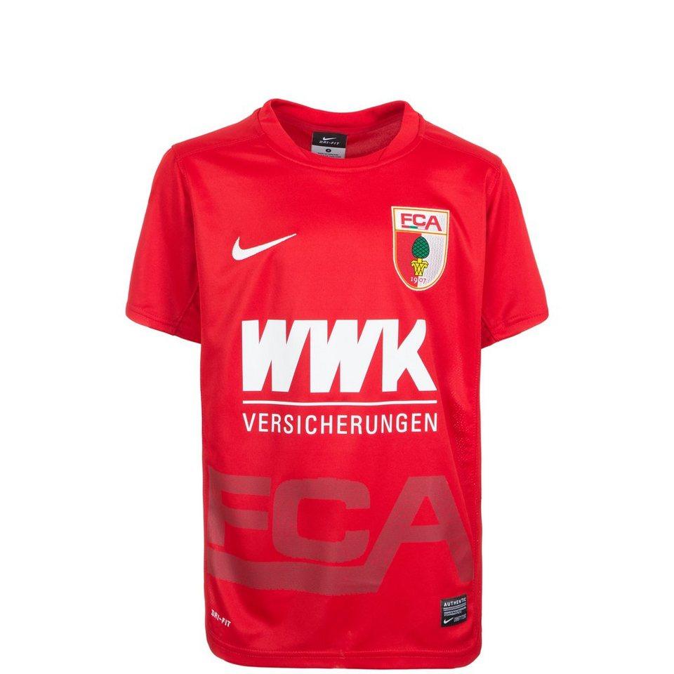 NIKE FC Augsburg Trikot Away 2015/2016 Kinder in rot