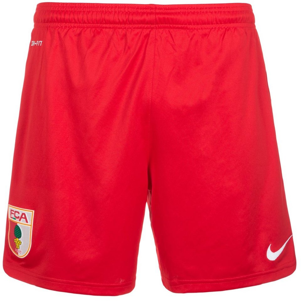 NIKE FC Augsburg Short Away 2015/2016 Herren in rot