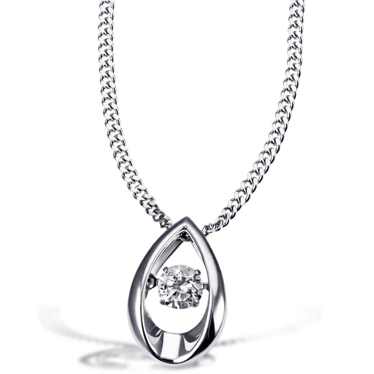 goldmaid Collier 925/- Sterlingsilber 1 Zirkonia