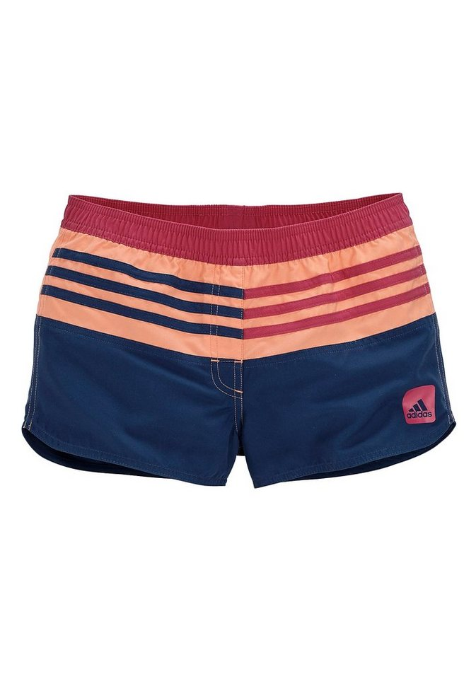Shorts, adidas Performance in marine-pink
