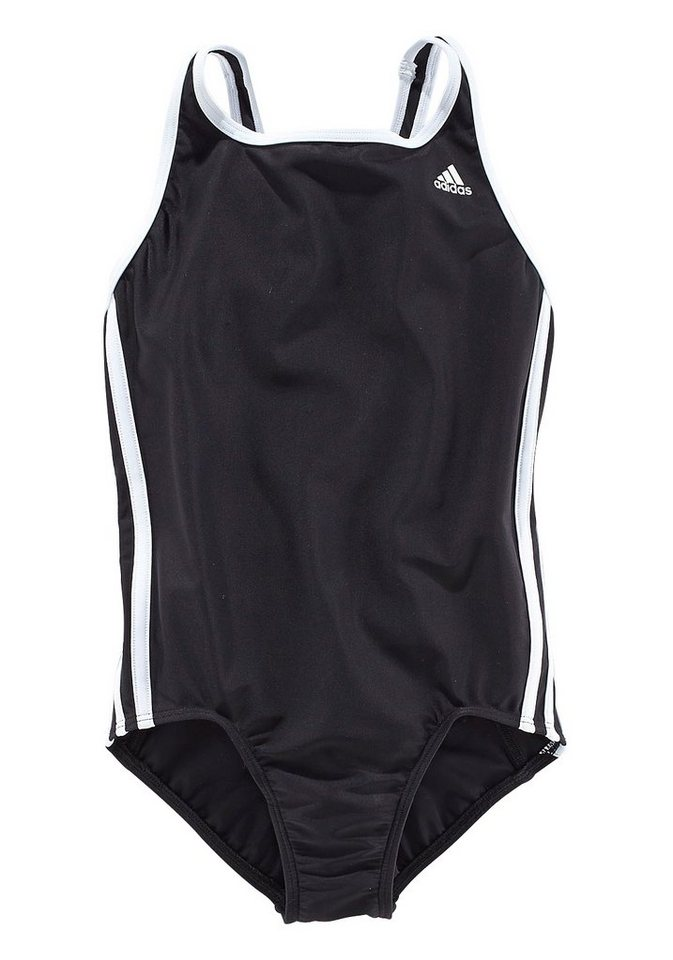 Badeanzug, adidas Performance in schwarz