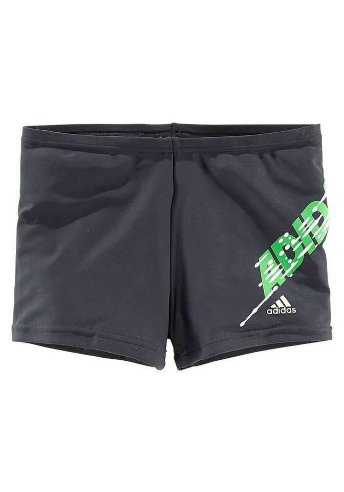 Boxerbadehose, adidas Performance in anthrazit