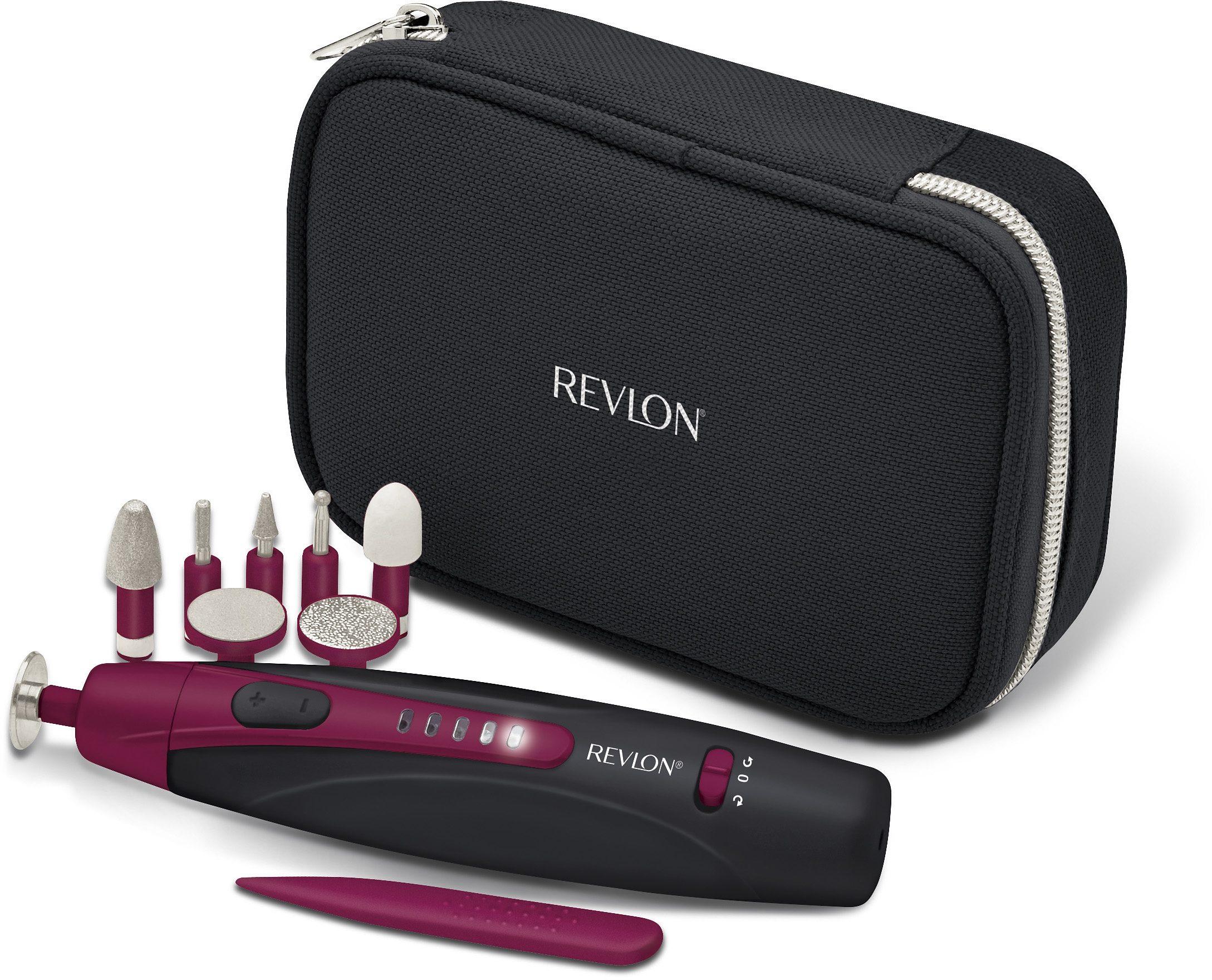 Revlon® Pediküre/Maniküre-Gerät TRAVEL CHIC RVSP3527E, Universell einsetzbar