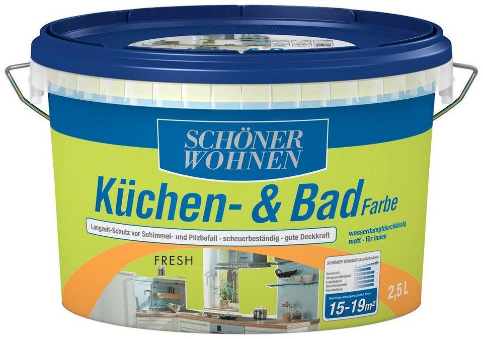 Schöner Wohnen Farbe Feuchtraumfarbe Küchebadfarbe Fresh 25 L