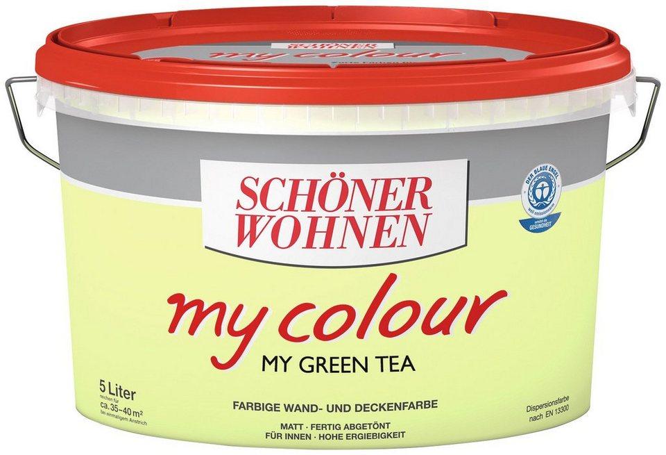 Innenfarbe »my colour«, my green tea in green tea