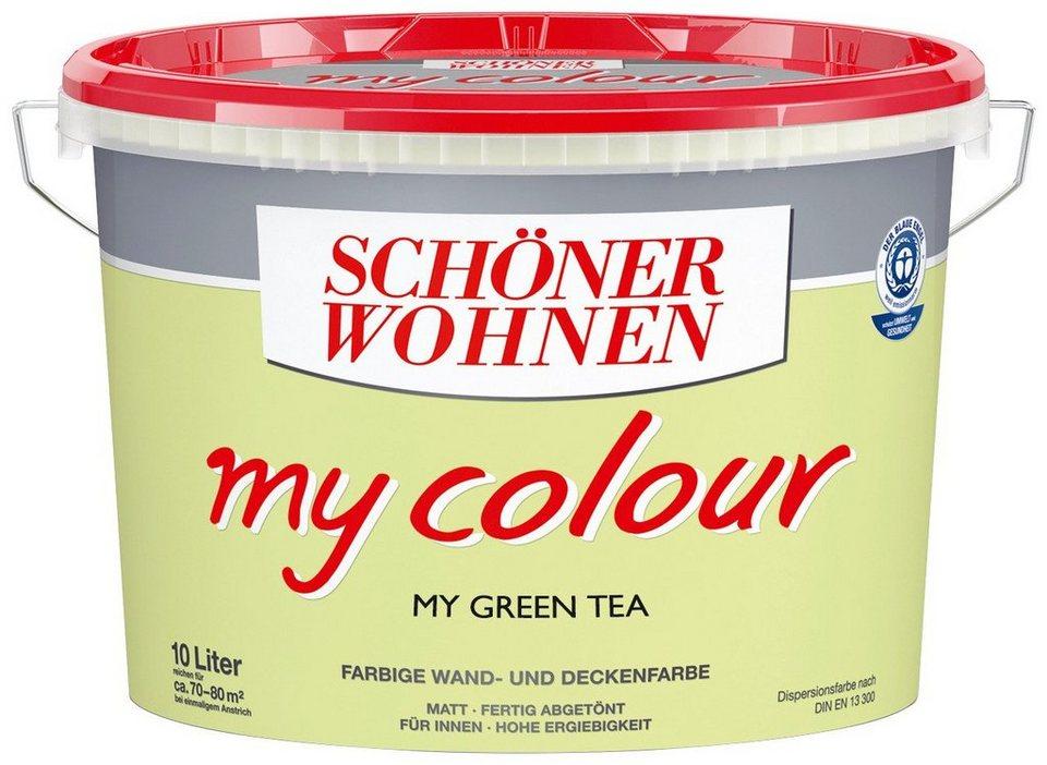 Innenfarbe »My Color 10,0L my green tea« in green tea