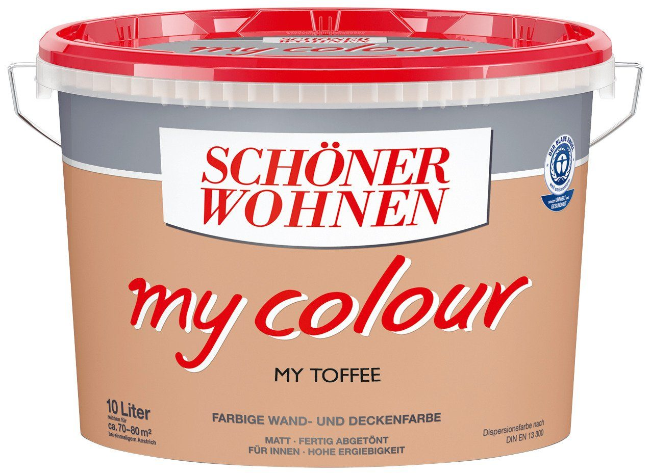 Innenfarbe »My Color 10,0L my toffee«