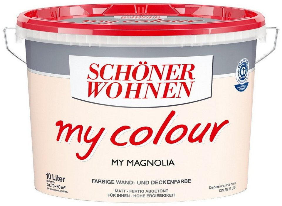 Innenfarbe »My Color 10,0L my magnolia« in Magnolia