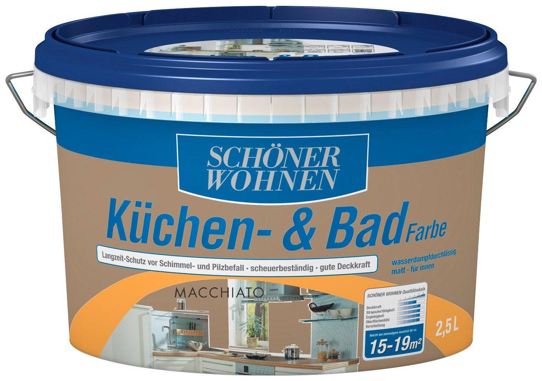 Schöner Wohnen Farbe Küchen- & Badfarbe, macchiato