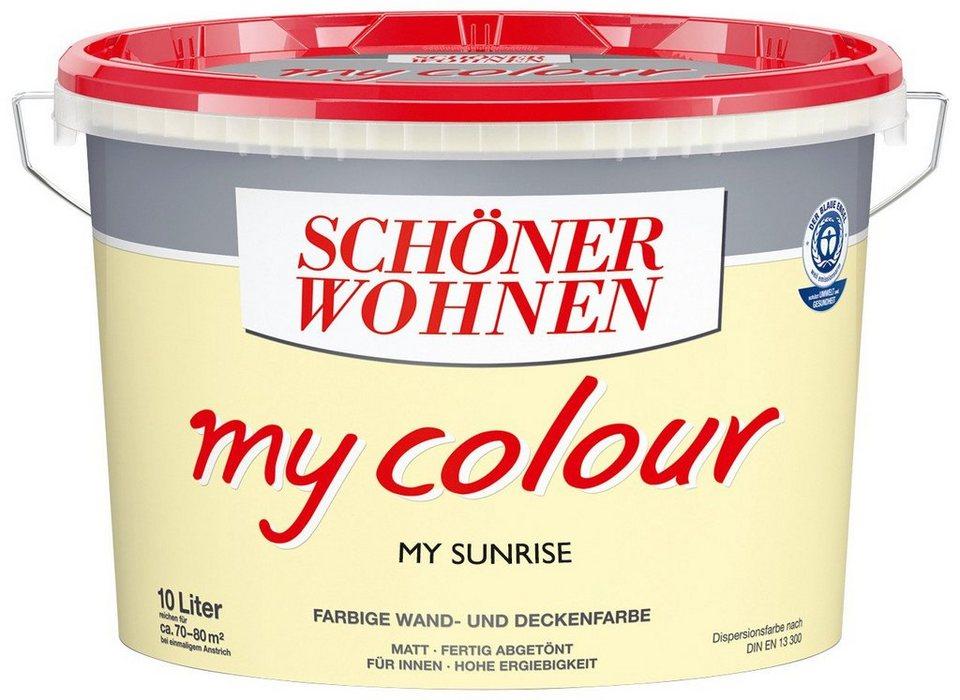 Innenfarbe »My Color 10,0L my sunrise« in Sunrise