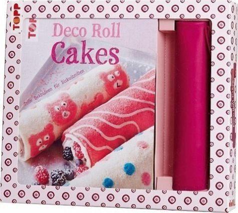 Broschiertes Buch »Kreativ-Set Deco Roll Cakes«