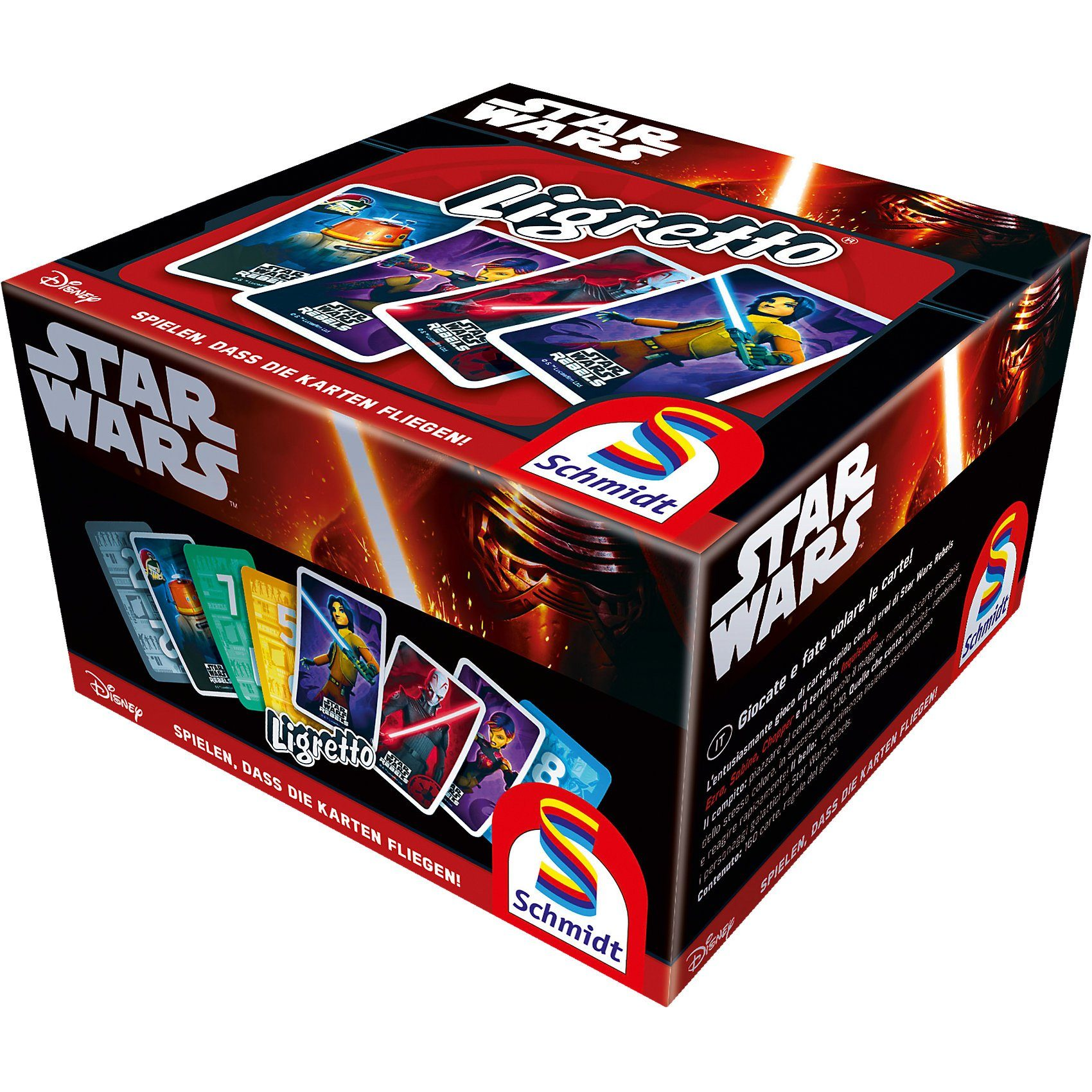 Schmidt Spiele Star Wars Rebels, Ligretto®