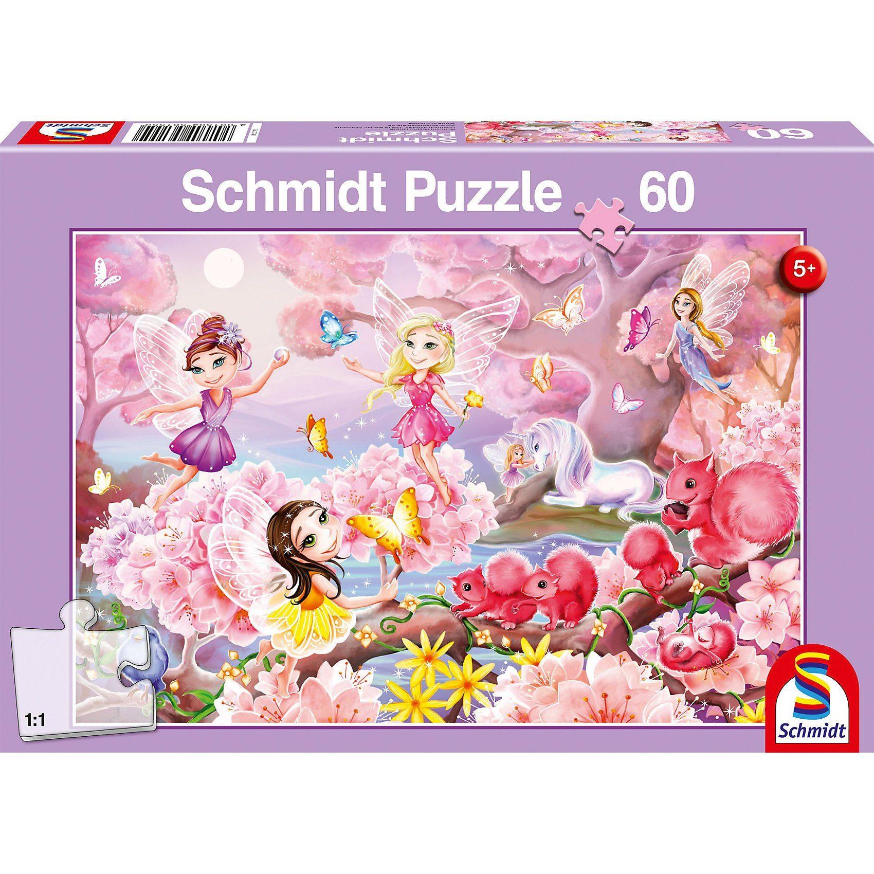 Schmidt Spiele Puzzle Feentanz, 60 Teile