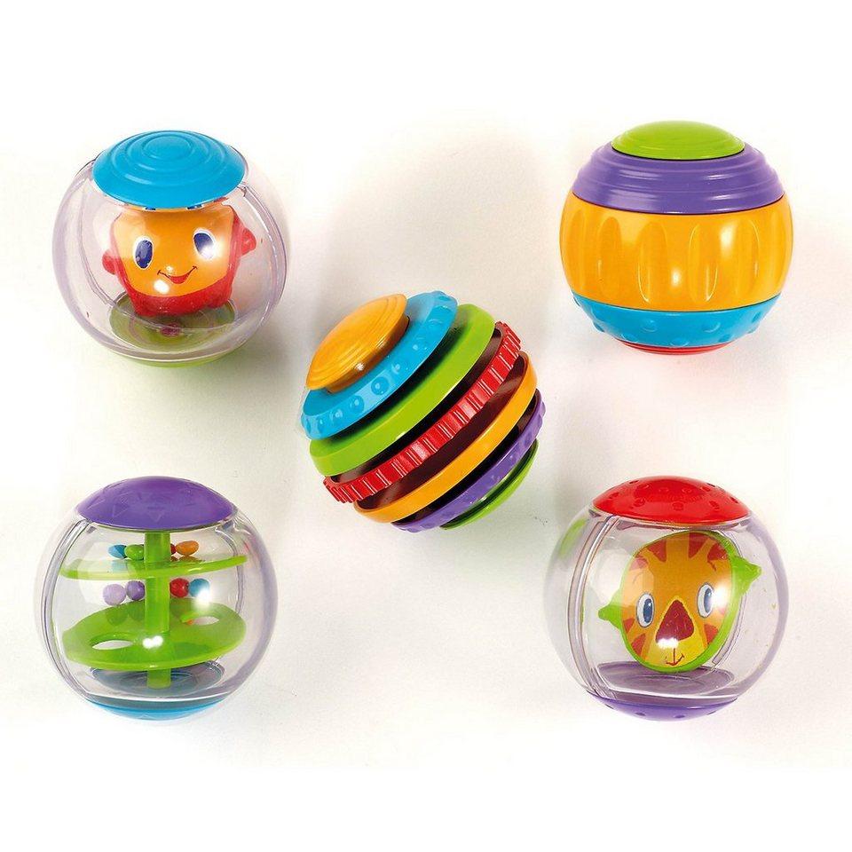 Kids II Spielbälle mit verschiedenen Funktionen