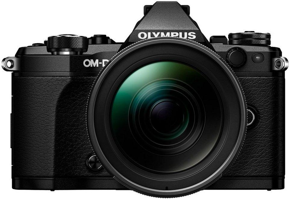 Olympus OM-D E-M5 Mark II Kit 12-40mm System Kamera, M.ZUIKO DIGITAL ED 12-40mm 1:2.8 PRO Zoom in schwarz