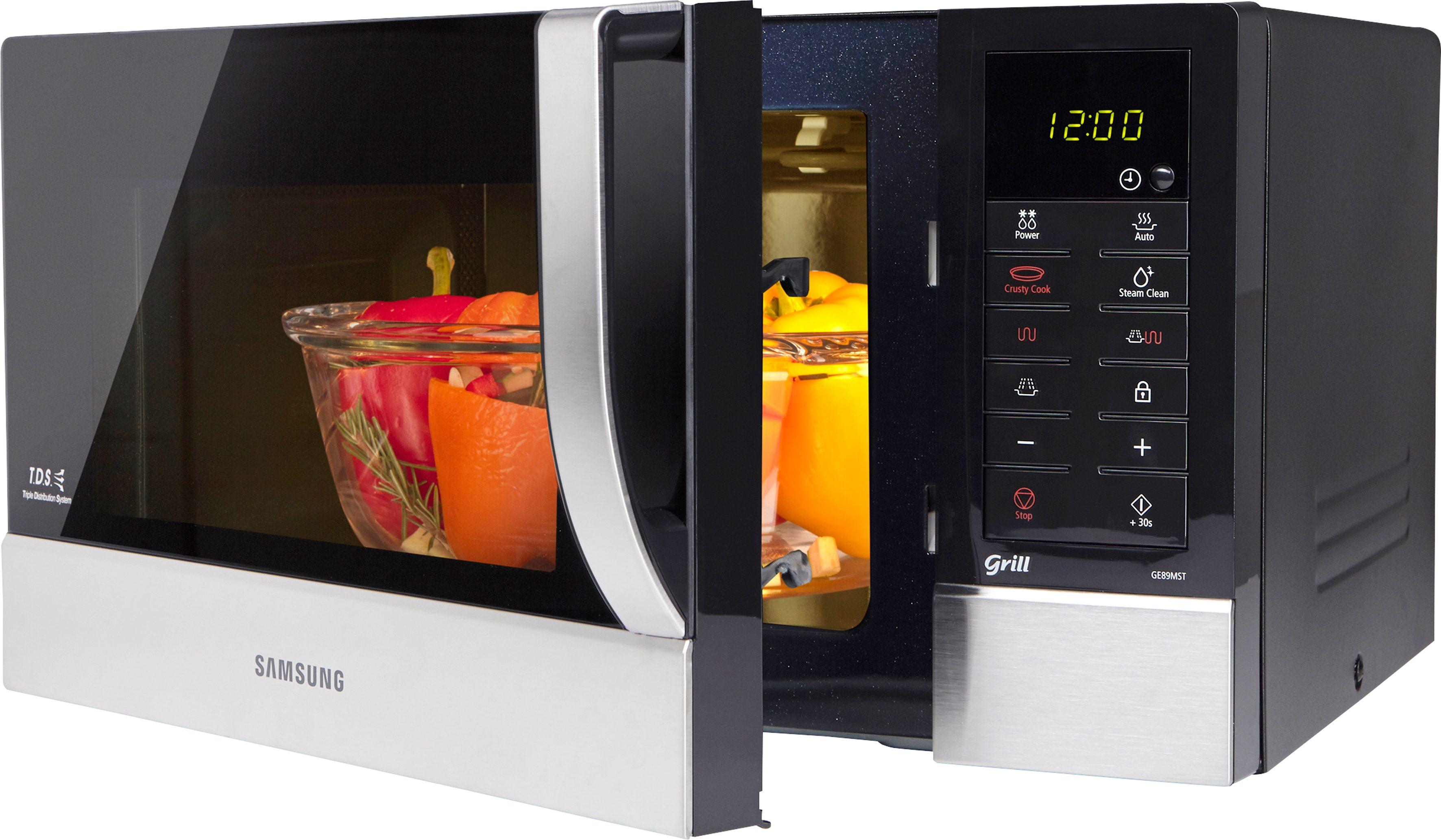 Samsung Mikrowelle GE89MST-1, mit Grill, 23 Liter Garraum, 800 Watt