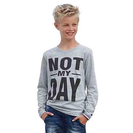 """KIDSWORLD Langarmshirt """"NOT MY DAY"""""""