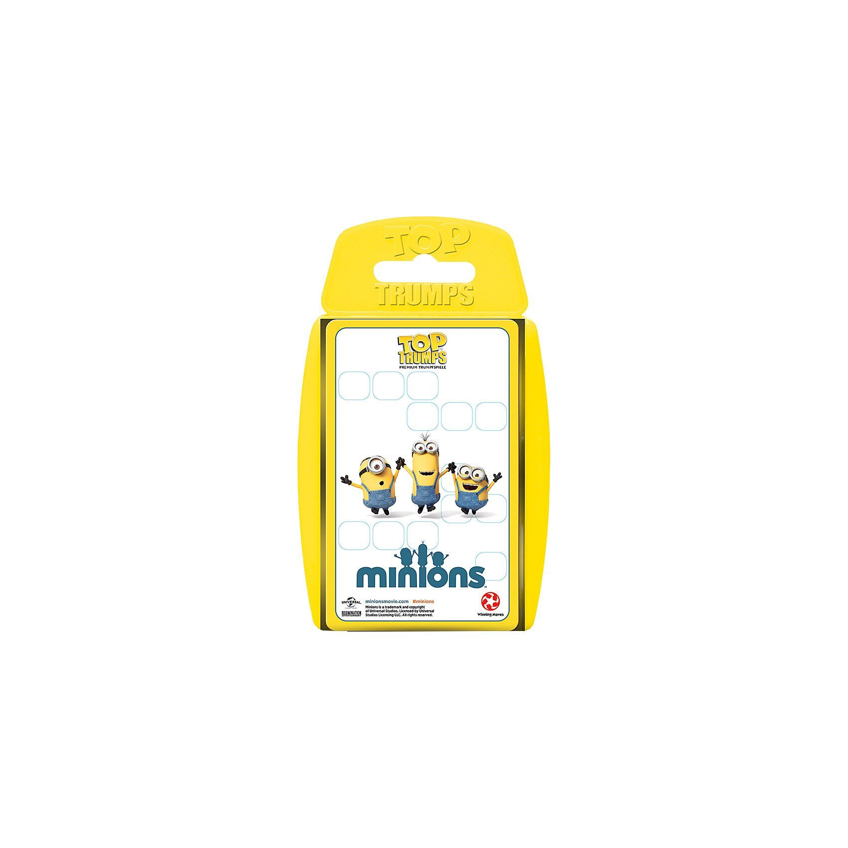 Winning Moves Top Trumps - The Minions