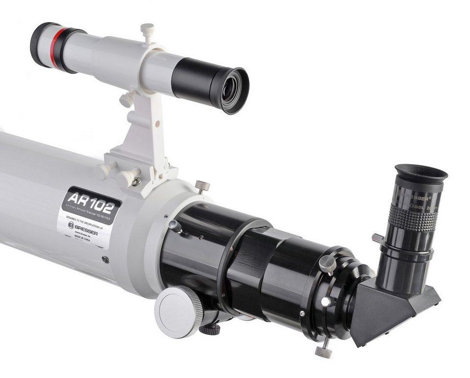 BRESSER Teleskop »BRESSER Messier AR-102/1000 EXOS-2 GoTo Hexafoc«
