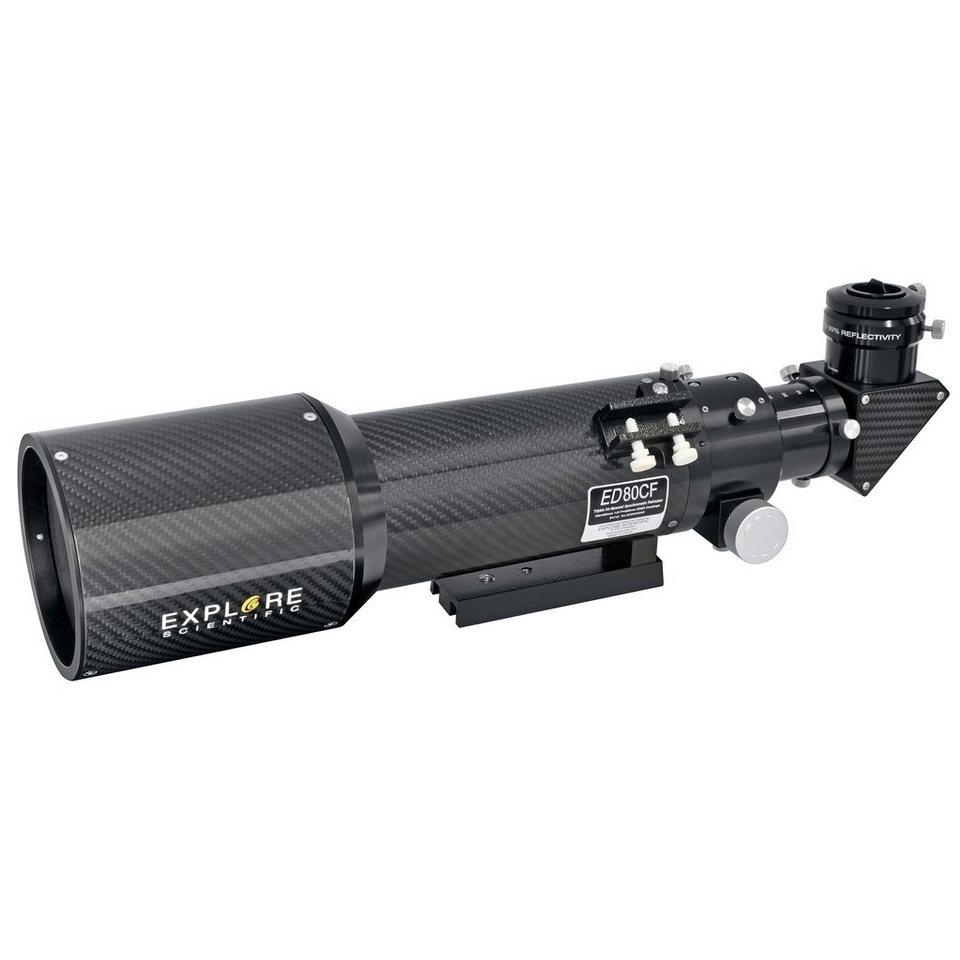 Bresser Teleskop »Explore Scientific ED APO 80mm f/6 FCD-1 CF Versio«