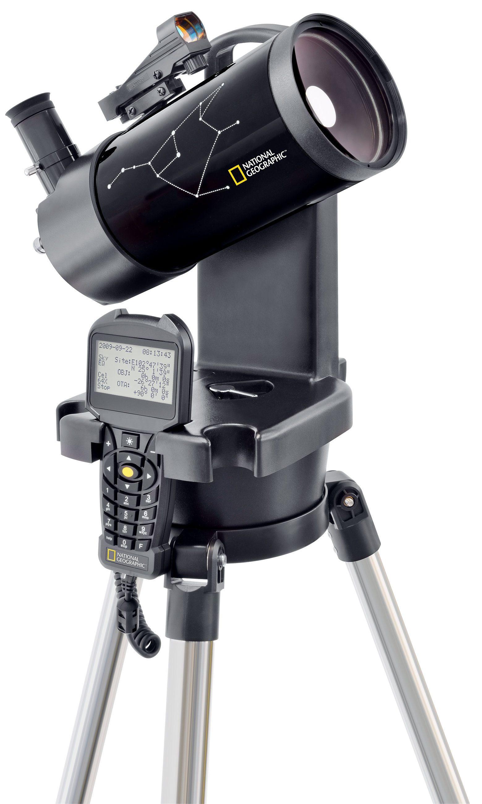Bresser Teleskop »NATIONAL GEOGRAPHIC Automatik Teleskop 90 mm«