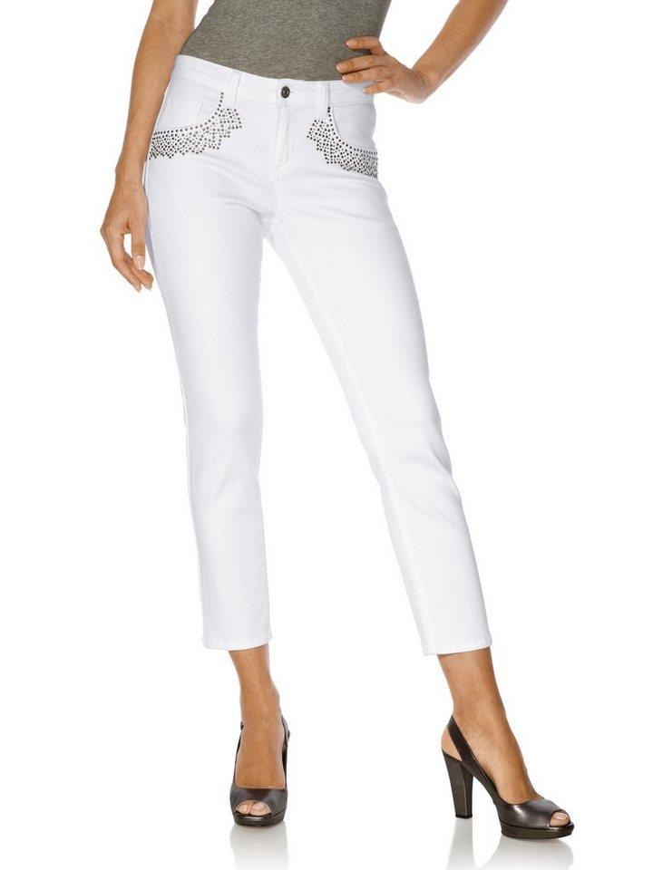 Jeans in weiß