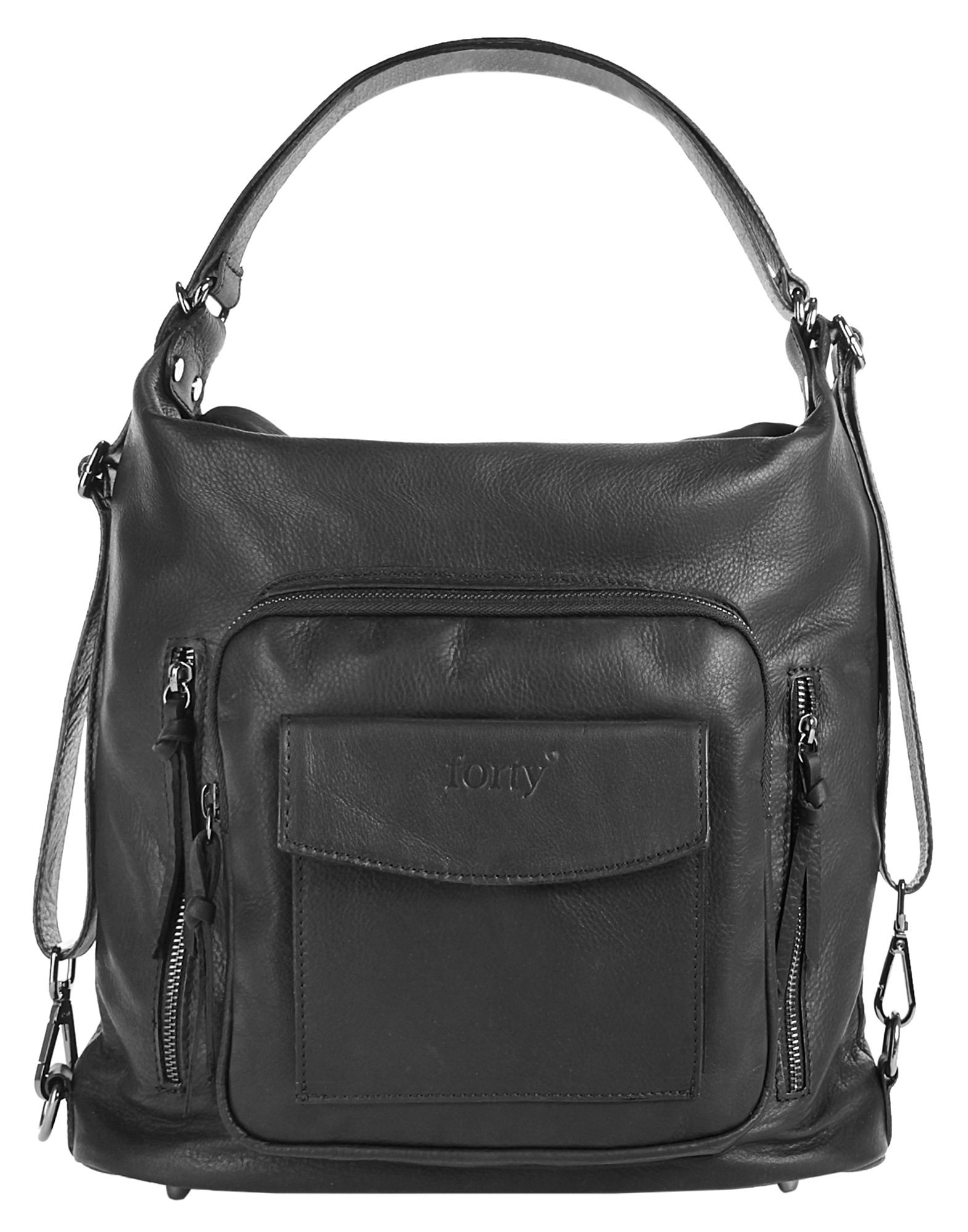 Forty degrees Leder Damen Rucksack-Shopper