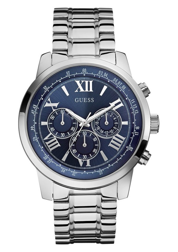 Guess Chronograph »W0379G3« in silberfarben
