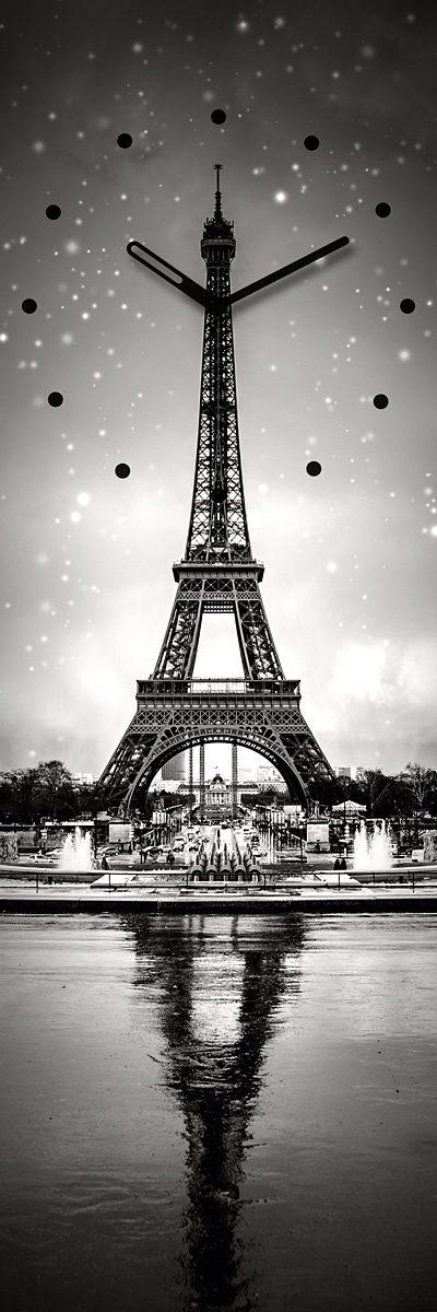 Eurographics, Wanduhr, »Paris Clock«, 20/60 cm