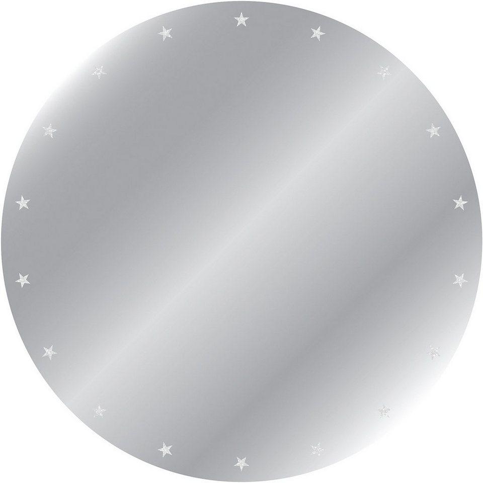 Eurographics, Kunstspiegel, »Stars«, Ø 50 cm in silber