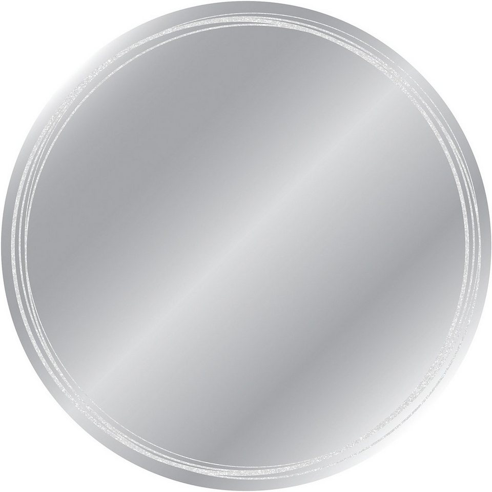 Eurographics, Kunstspiegel, »Kreise«, Ø 50 cm in silber