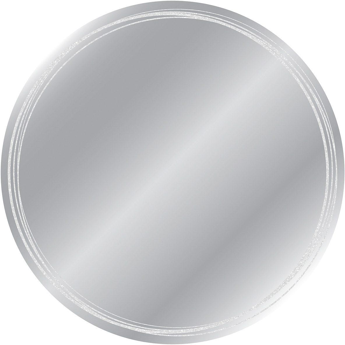 EUROGRAPHICS Kunstspiegel »Kreise«, Ø 50 cm