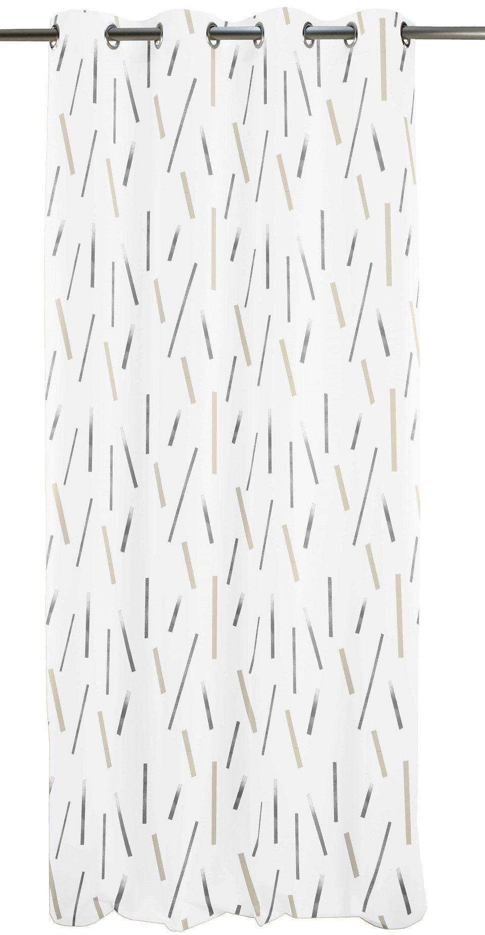 Vorhang, Apelt, »Lux«, mit Ösen (1 Stück)