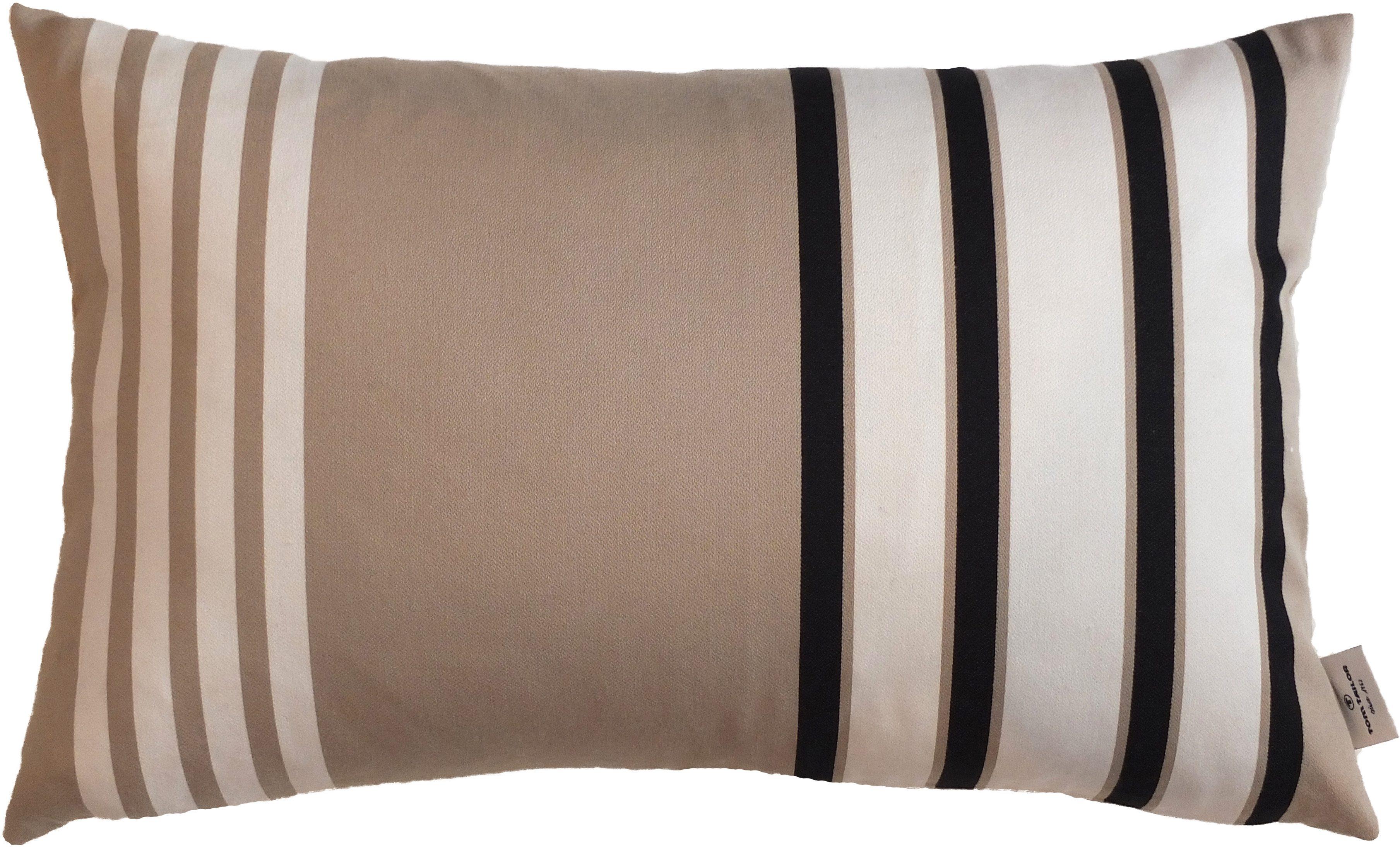 Kissenhülle 1-er Pack, Tom Tailor, »T-Stripe Pattern«