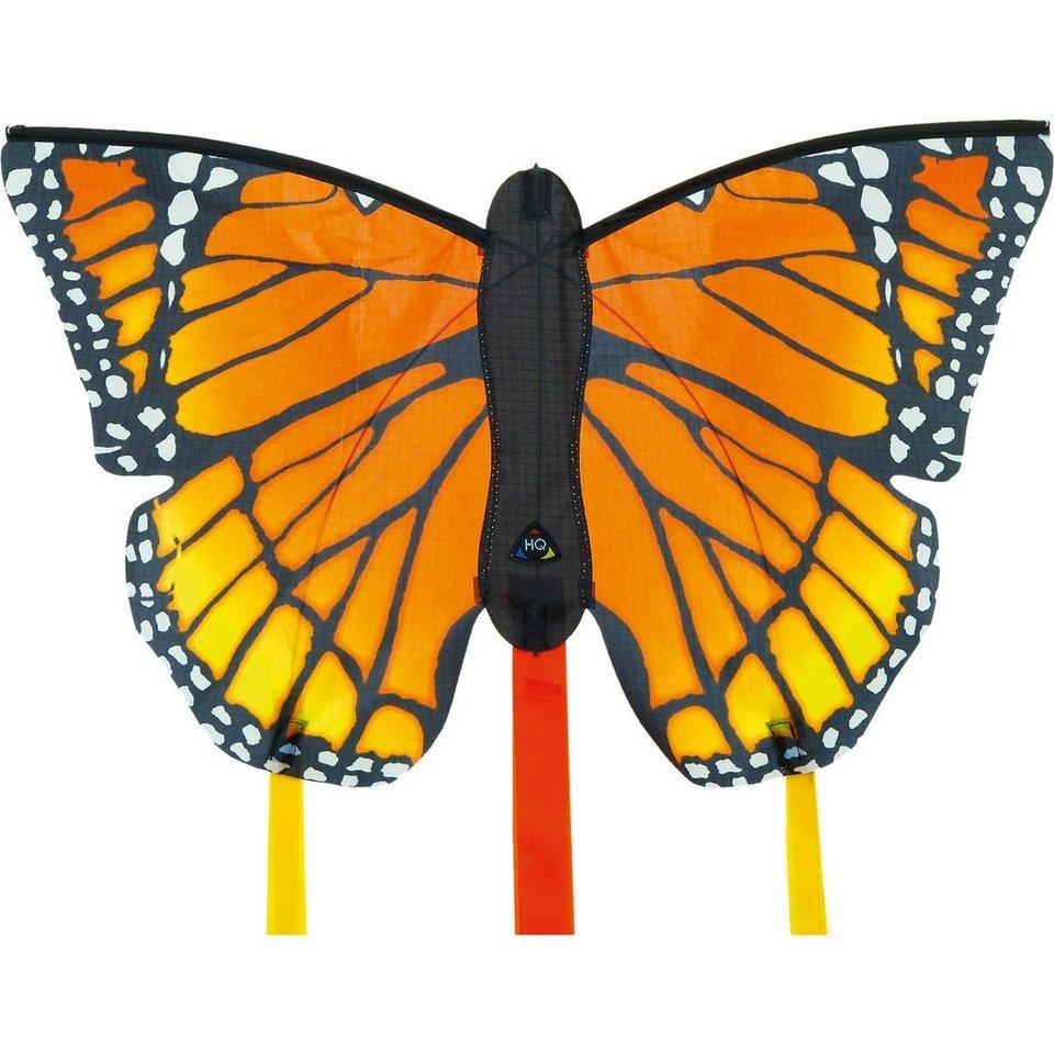 """HQ Butterfly Kite Monarch """"R"""" in bunt"""