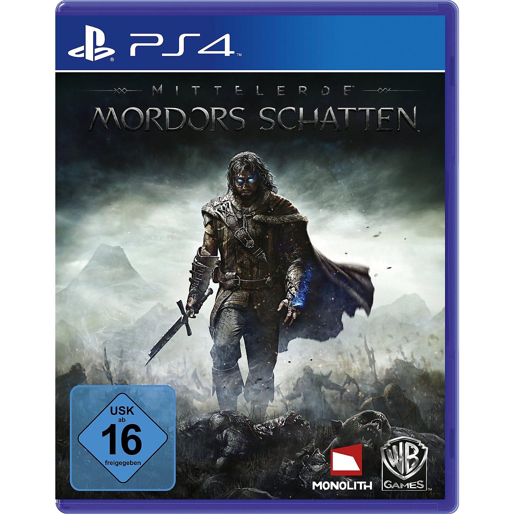 ak tronic PS4 Mittelerde: Mordors Schatten