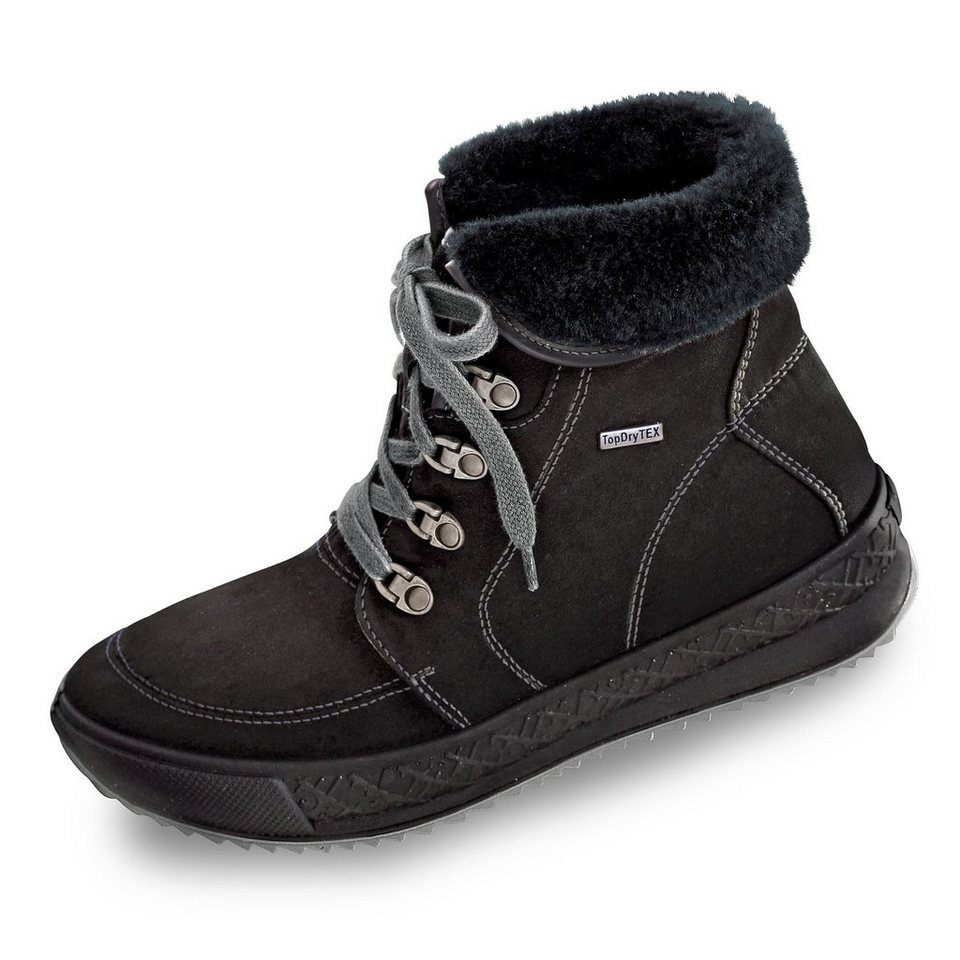 Romika Tex-Boots in schwarz
