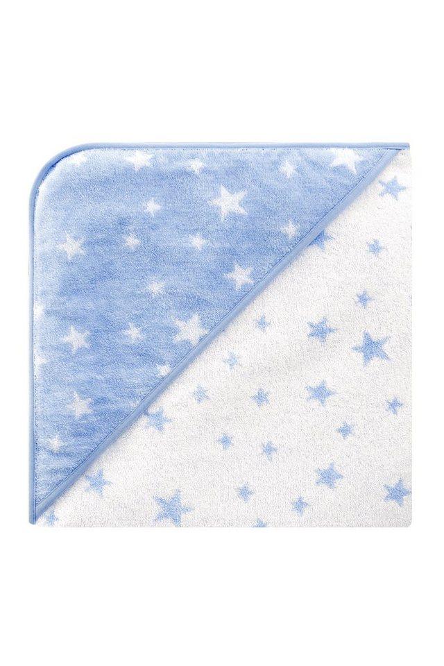 BELLYBUTTON Kapuzenhandtuch mit Sternen in stars light blue